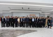 云阳党政及商务代表团一行到捷瑞数字参观考察